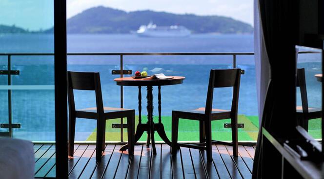 U Zenmaya Phuket Deluxe Seaview Room Balcony