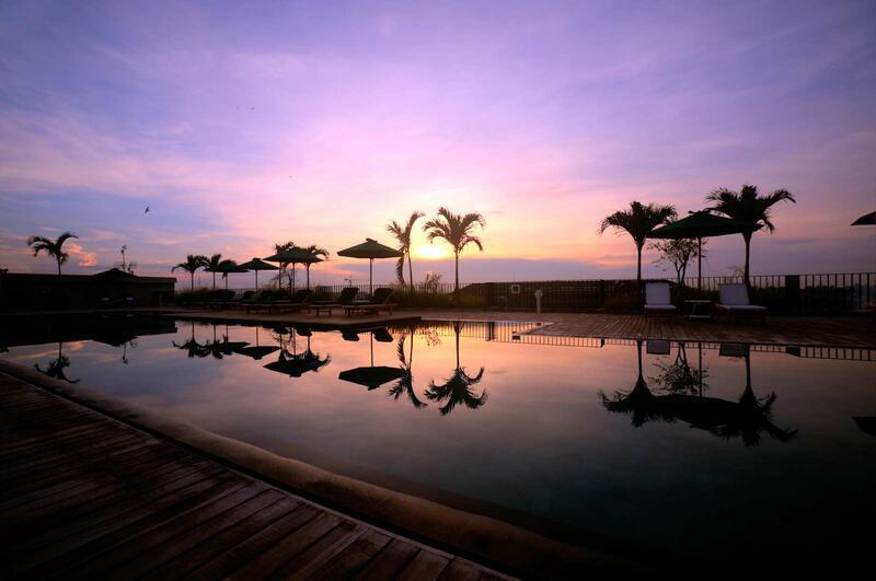 Swimming Pool Sunset View at U Paasha Seminyak Bali