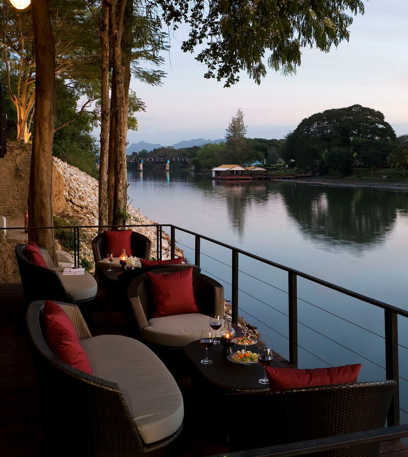 The Terrace Lounge at U Inchantree Kanchanaburi