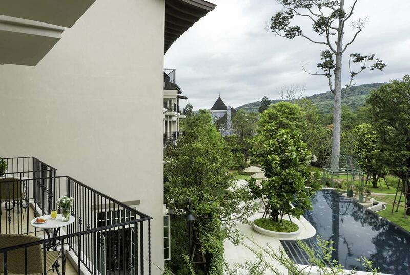U Khao Yai Deluxe Room Balcony