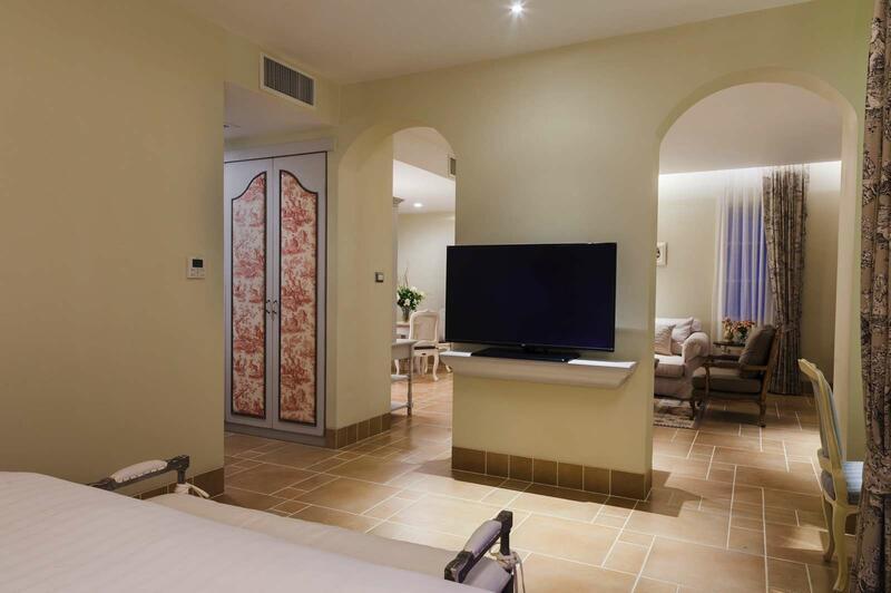 U Khao Yai Suite Living Room