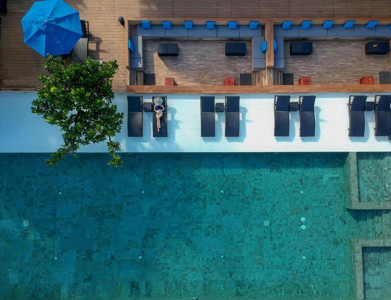 U Pattaya Swimming Pool Overview