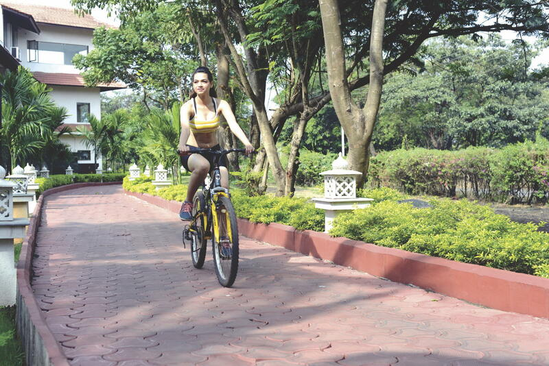U Tropicana Alibaug Free Bike Rental