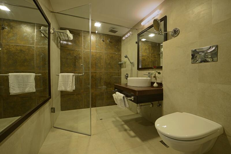 Bathroom at U Tropicana Alibaug Deluxe Room