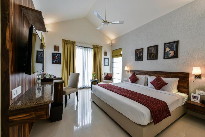 U Tropicana Alibaug Villa Bedroom