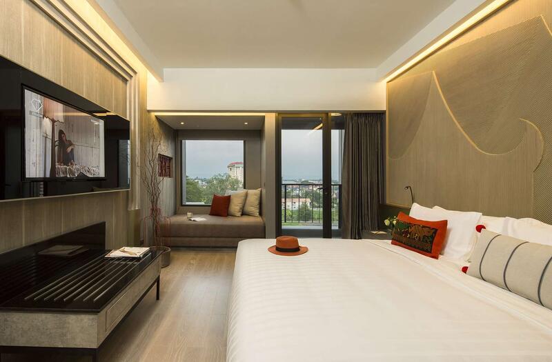 U Nimman Chiang Mai Deluxe Balcony Room