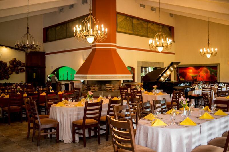 Área de estar del restaurante
