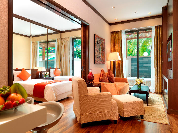 Luxurious hotel accommodation in Kuala Lumpur. With spacious liv