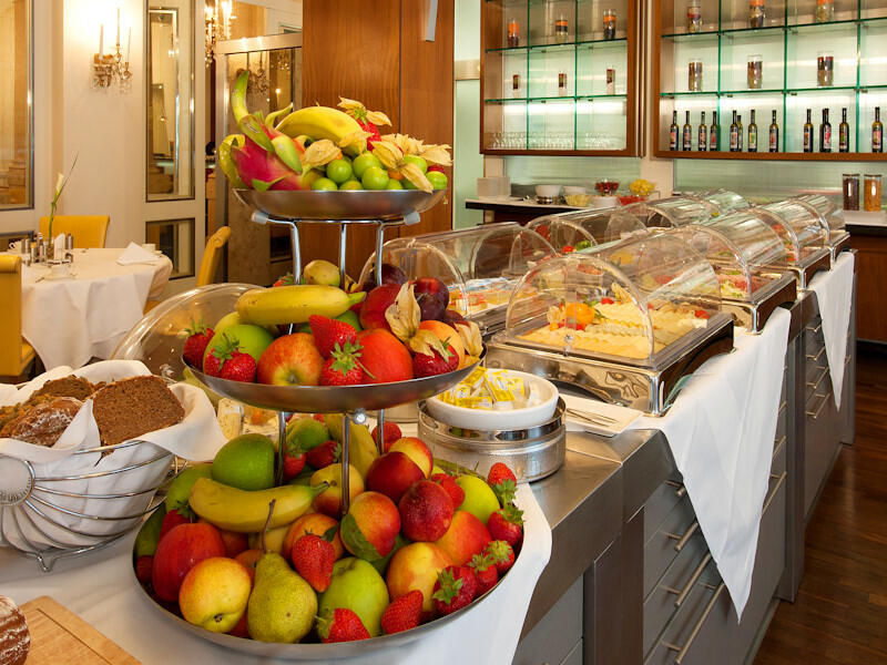 Breakfast at Ambassador Hotel in Vienna
