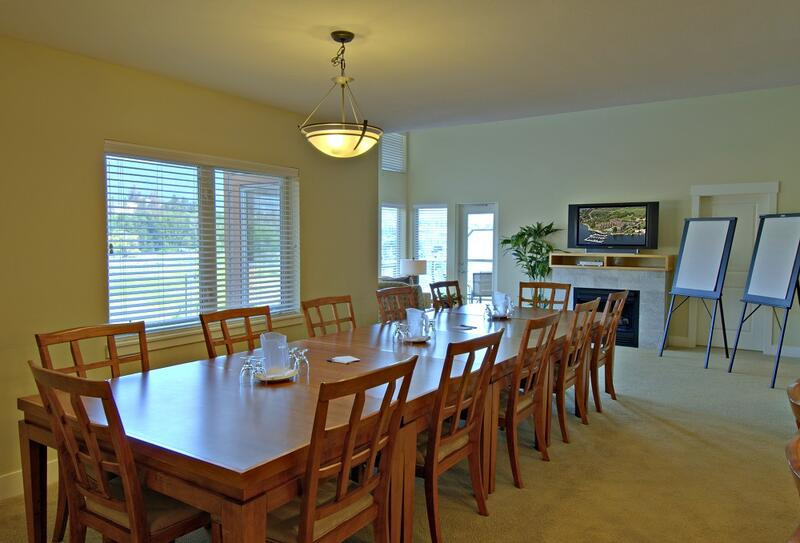 executive boardroom in suite