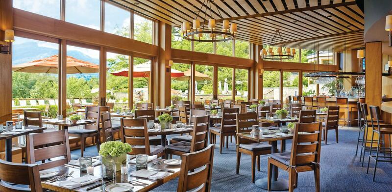 Interior photo of Flannel restaurant.