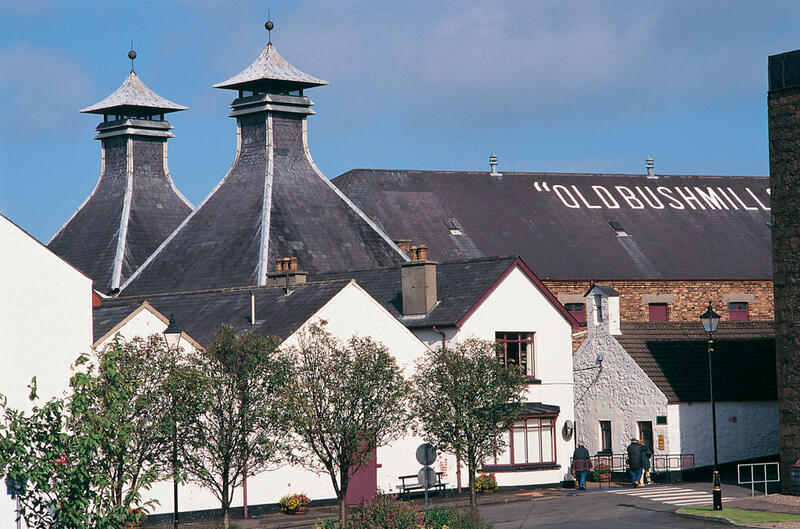 Old Bushmills Whiskey Distillery Northern Ireland