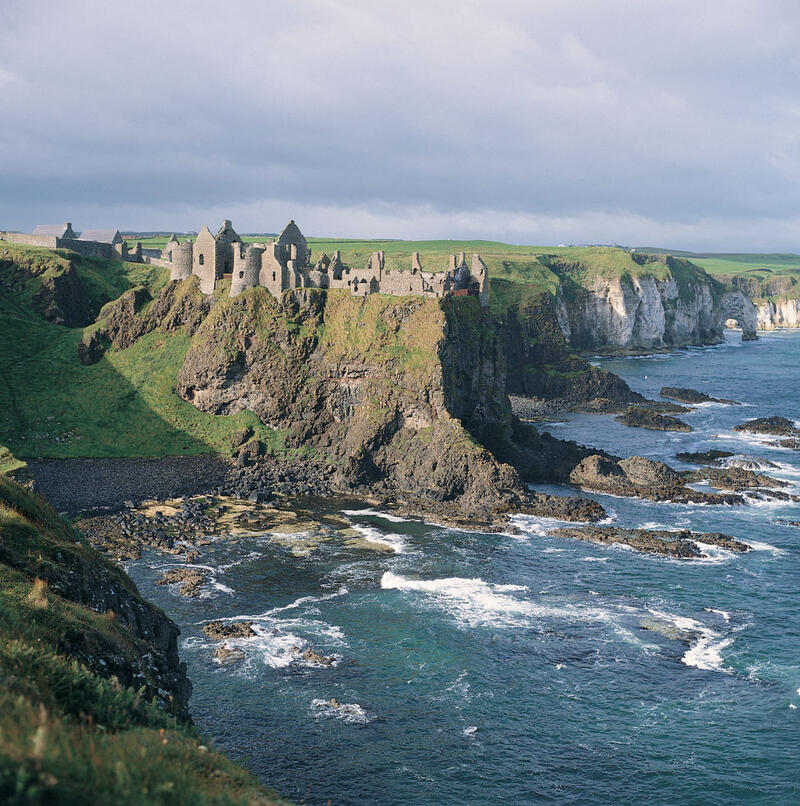View Of Dunluce Castle