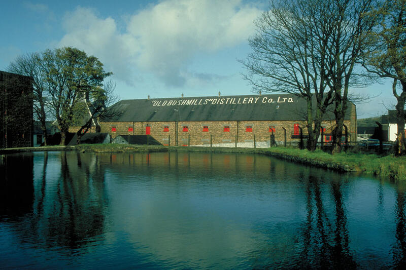 Old Bushmills Whisky Distillery