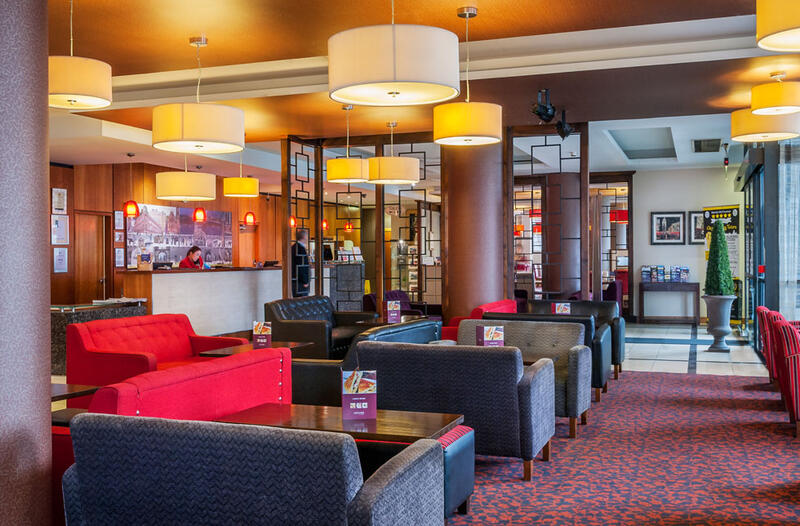 Lobby And Reception Area At City Hotel Derry