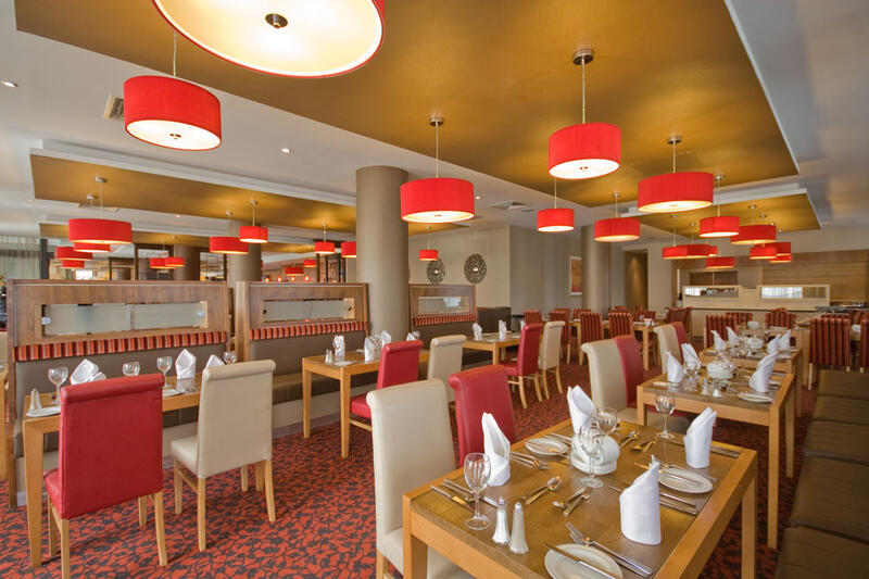 Overview Of Table Layout In Restaurant At City Hotel Derry