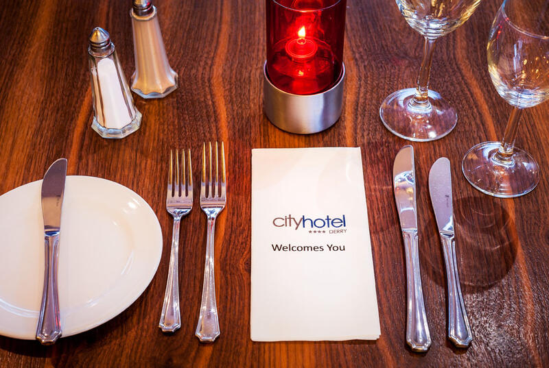 City Hotel Derry Table Setting