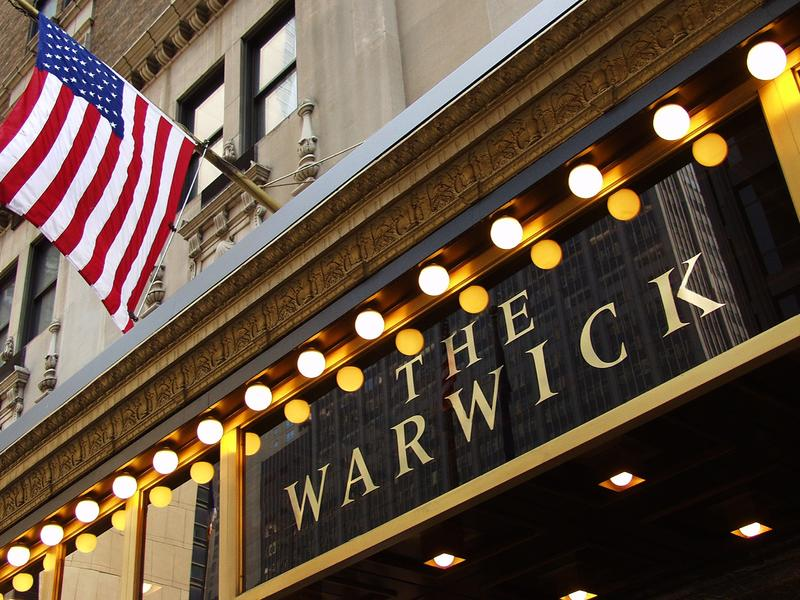 Warwick New York Facade