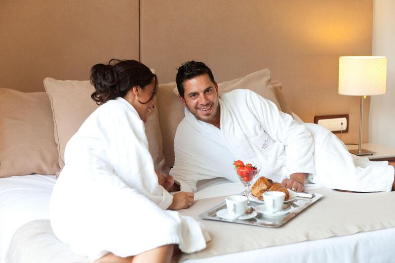 In-room breakfast at Gran Hotel Sóller in Majorca