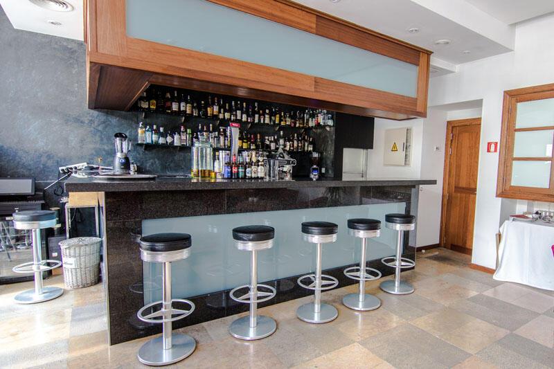 Lobby bar at Gran Hotel Sóller in Majorca