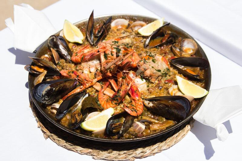Menu at Gran Hotel Sóller in Majorca