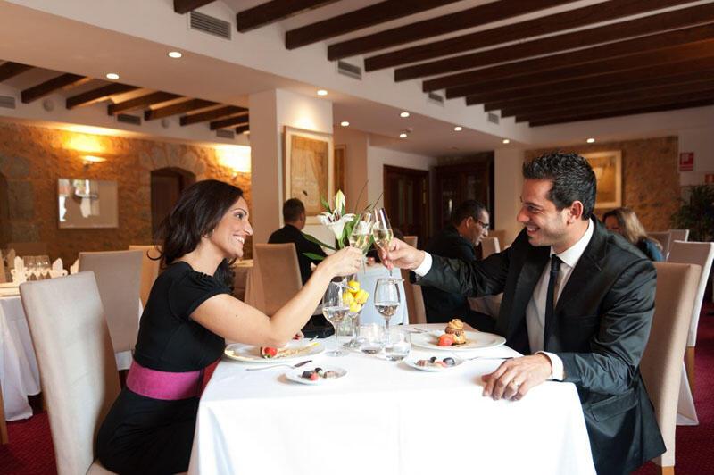 Restaurant at Gran Hotel Sóller in Majorca