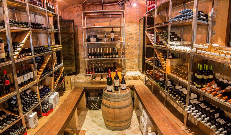 Winery at Gran Hotel Sóller in Majorca