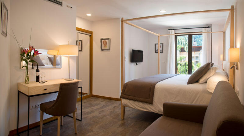 Executive Double Room at Gran Hotel Sóller in Majorca