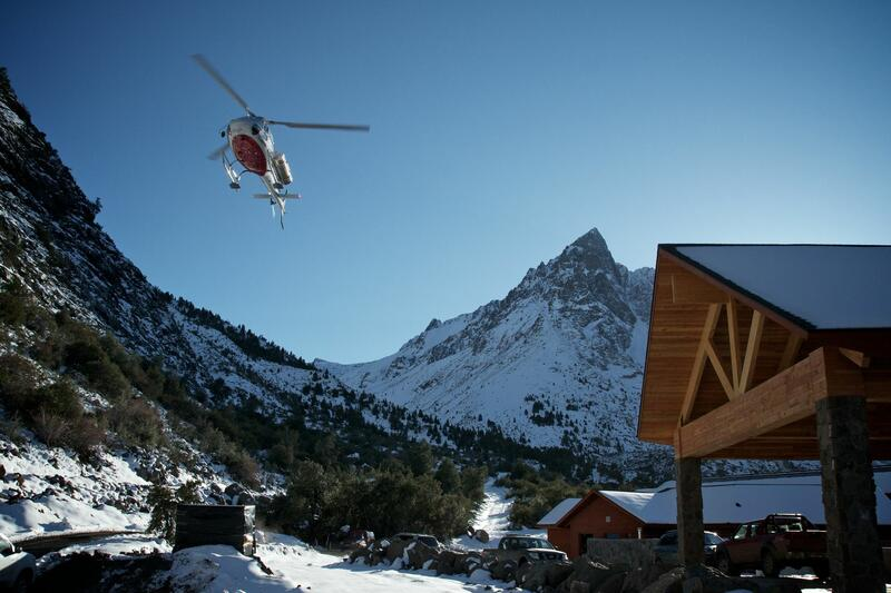 Helicopter over Hotel