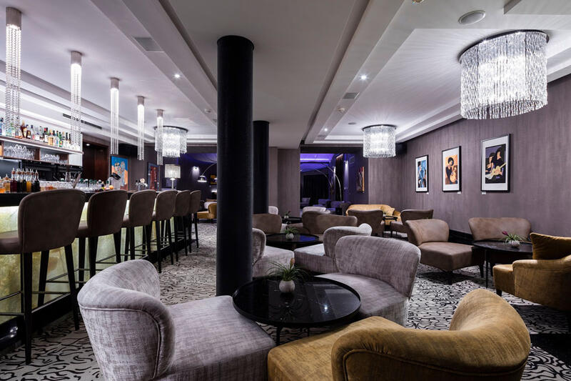 Majestic Lounge at Hotel KINGS COURT in Prague