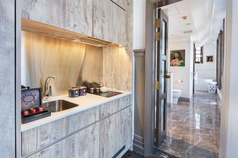 Kitchenette in Ann Siang House