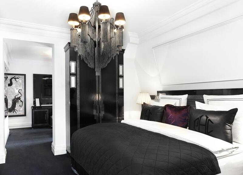 Bedroom lamp - Patrick Hellman Schlosshotel
