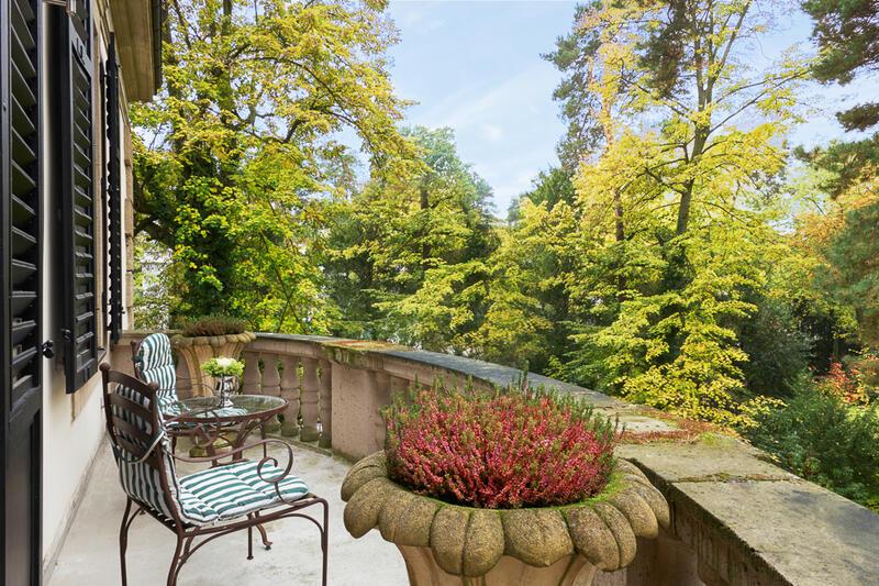 Grunewald Suite Balcony - Patrick Hellman Schlosshotel