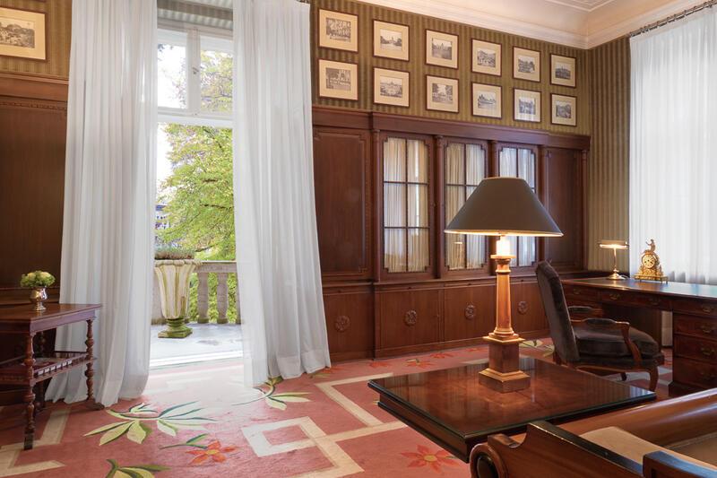 Grunewald Suite Living Area - Patrick Hellman Schlosshotel