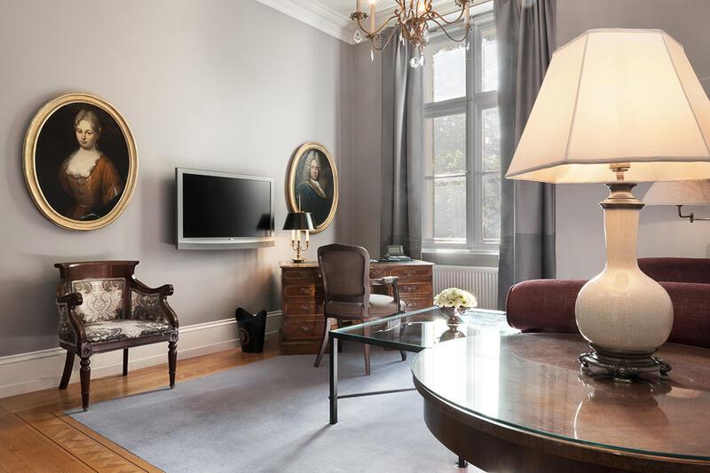 Living area - Patrick Hellman Schlosshotel