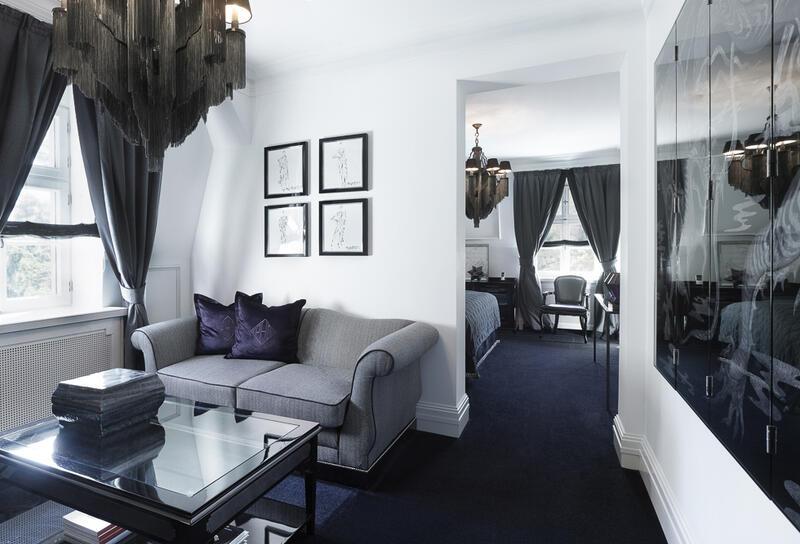 Sitting area - Patrick Hellman Schlosshotel