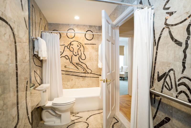 Superior one bedroom bathroom