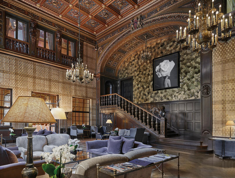 Lobby view - Patrick Hellman Schlosshotel