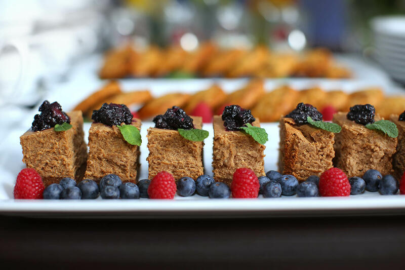 Buffet Food close-up at Hotel Aubrecht Country Spa