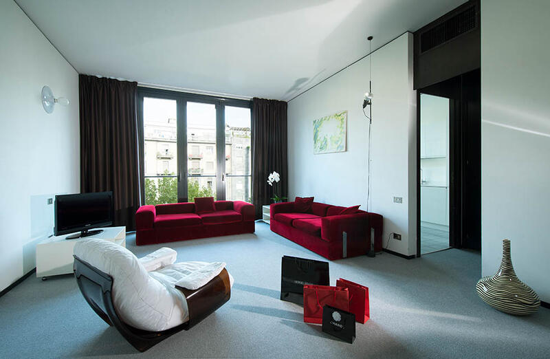 Living Room at DUPARC Contemporary Suites, Torino