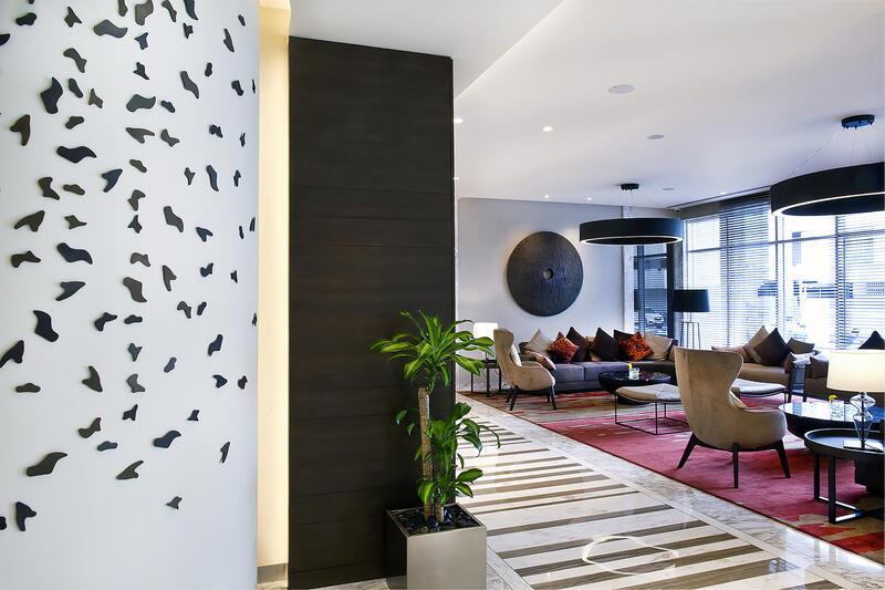Lobby at Grayton Hotel Dubai