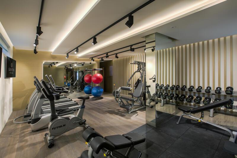 Gym at Grayton Hotel Dubai