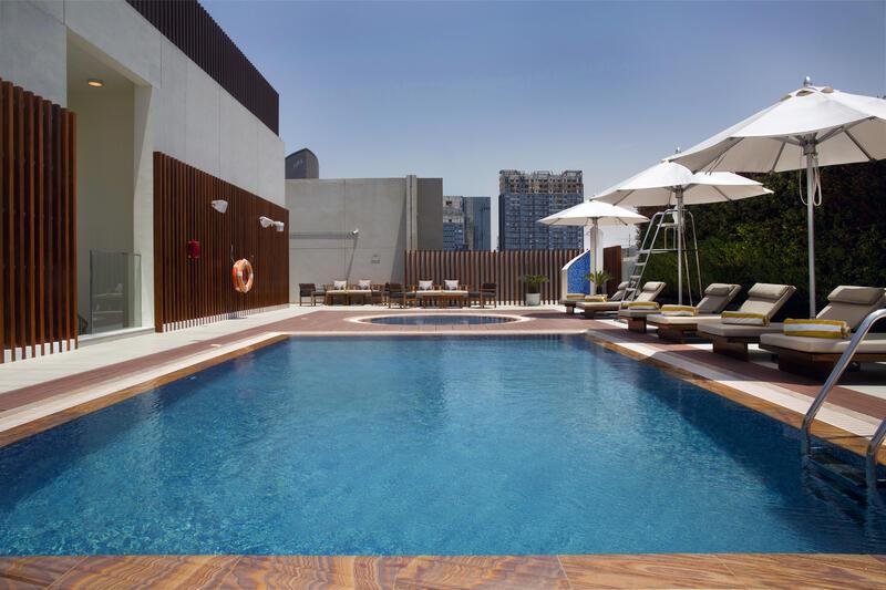 Pool at Grayton Hotel Dubai