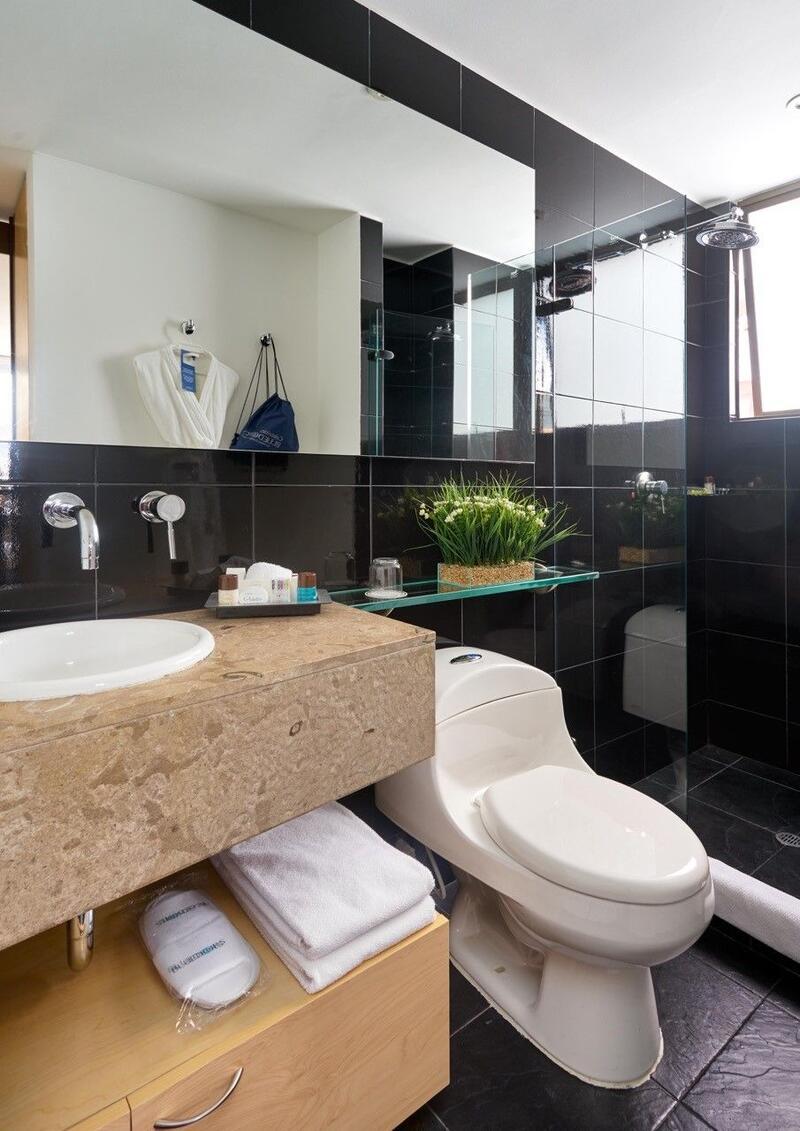 Bathroom in Suites
