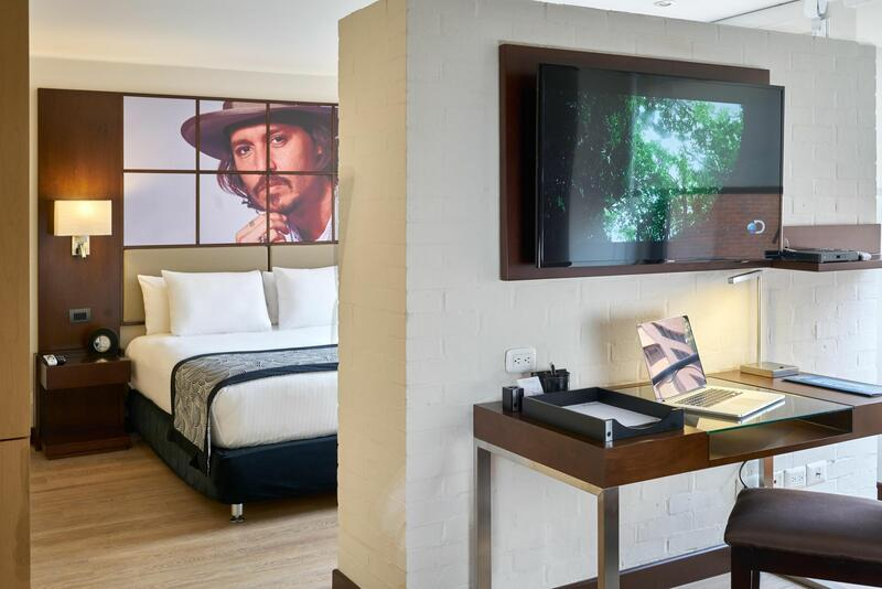 Junior Suite Sleeping area
