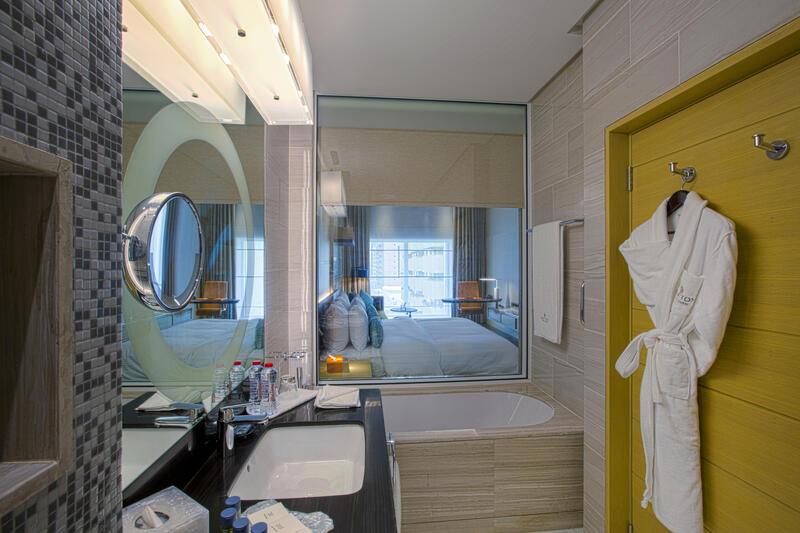 Bathroom at Grayton Hotel Dubai