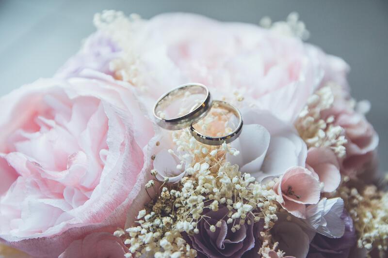 Wedding rings in Warwick Melrose Dallas
