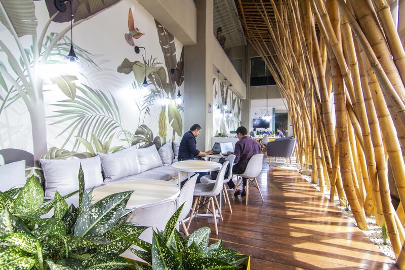 Diez Hotel Coworking Space