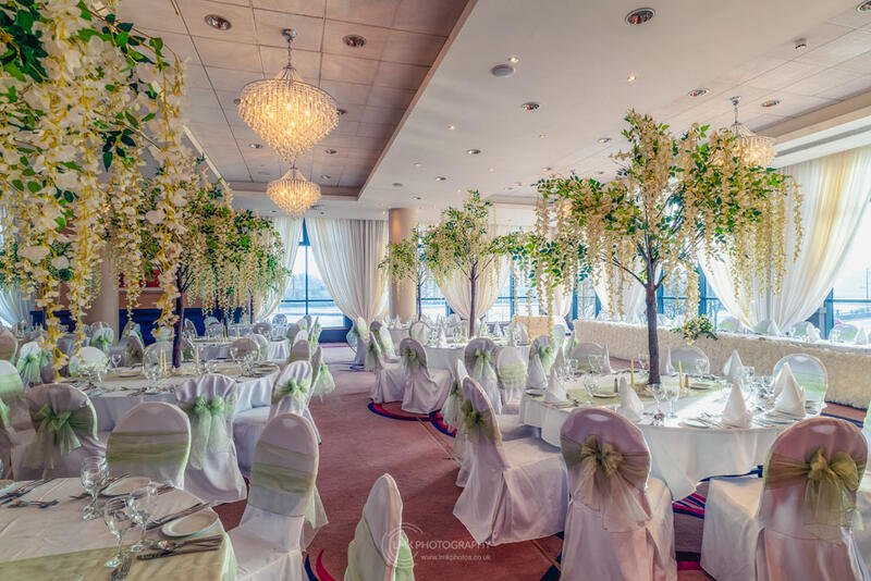 City Hotel Derry Ballroom Set Up For Wedding