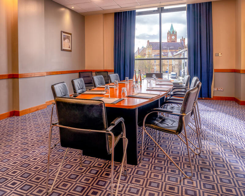 City Hotel Derry The Hervey Suite With View Of The Guildhall